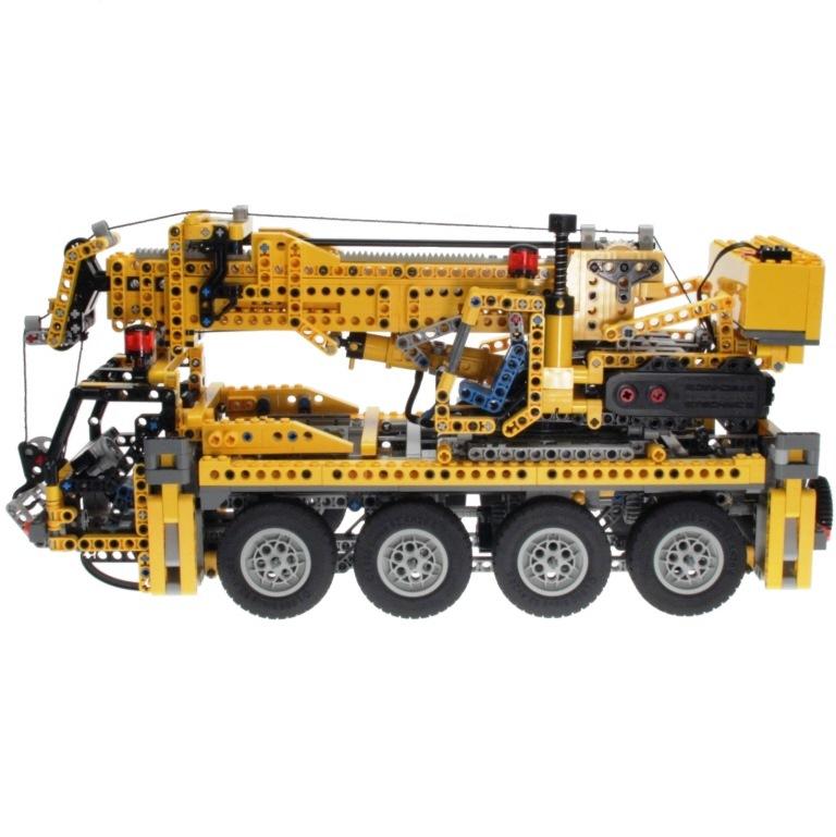 lego technic 8421 mobile crane decotoys. Black Bedroom Furniture Sets. Home Design Ideas