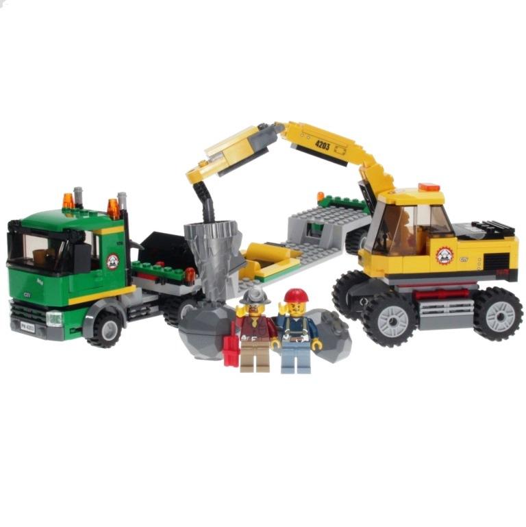 Lego City Excavator Transport 4203 Mib Estatebobcom