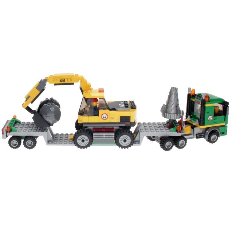 Mib 4203 Lego City Excavator Transport Africancbforg