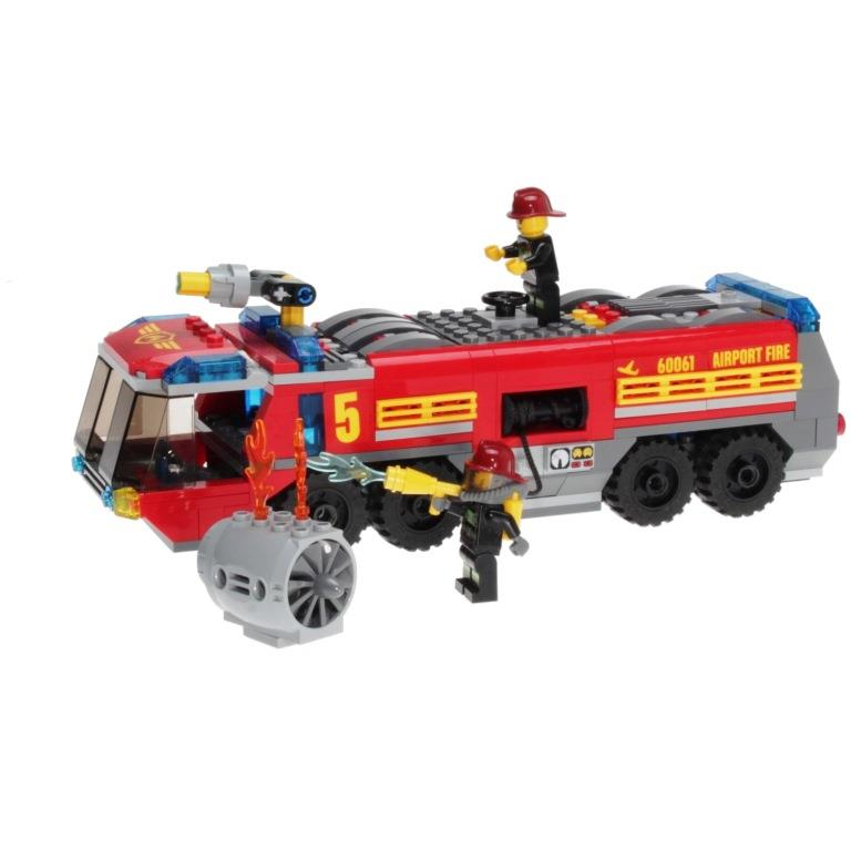 Lego City 60061 Airport Fire Truck Decotoys