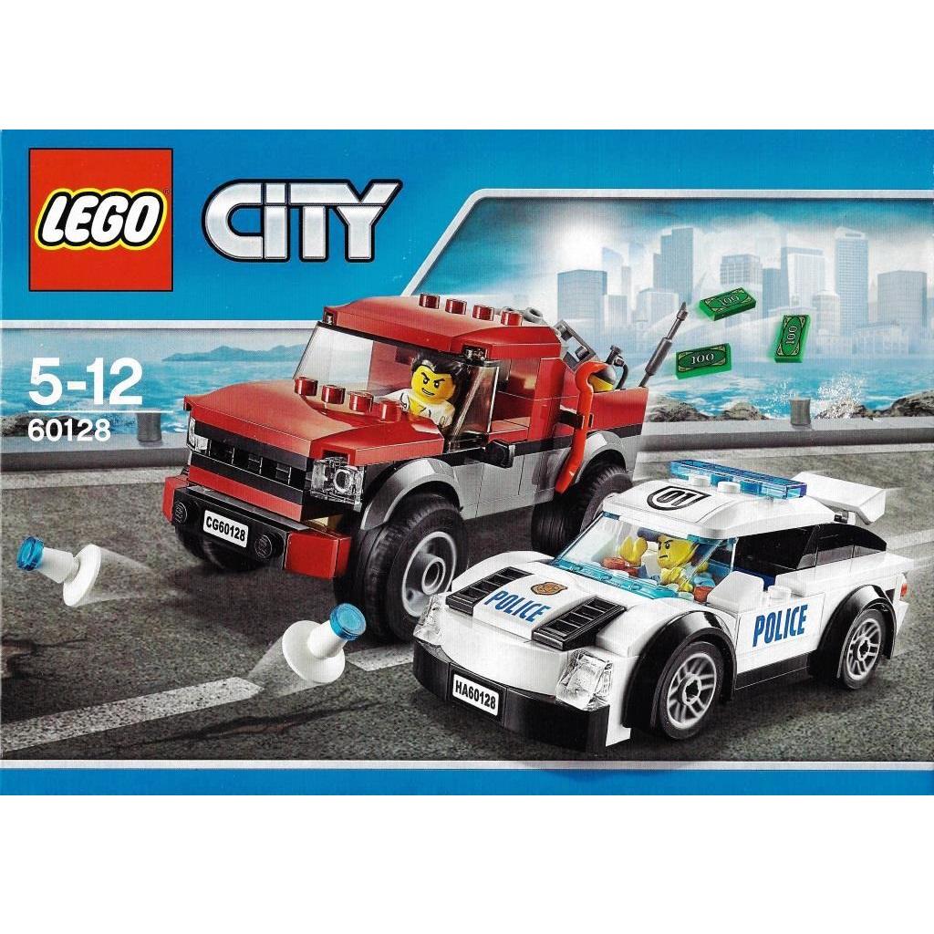 Lego City 60128 Police Pursuit Decotoys