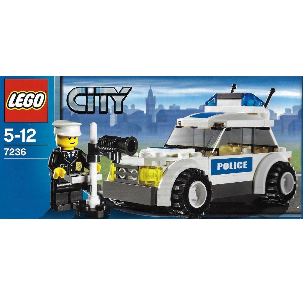 Lego City 7236 Police Car Decotoys