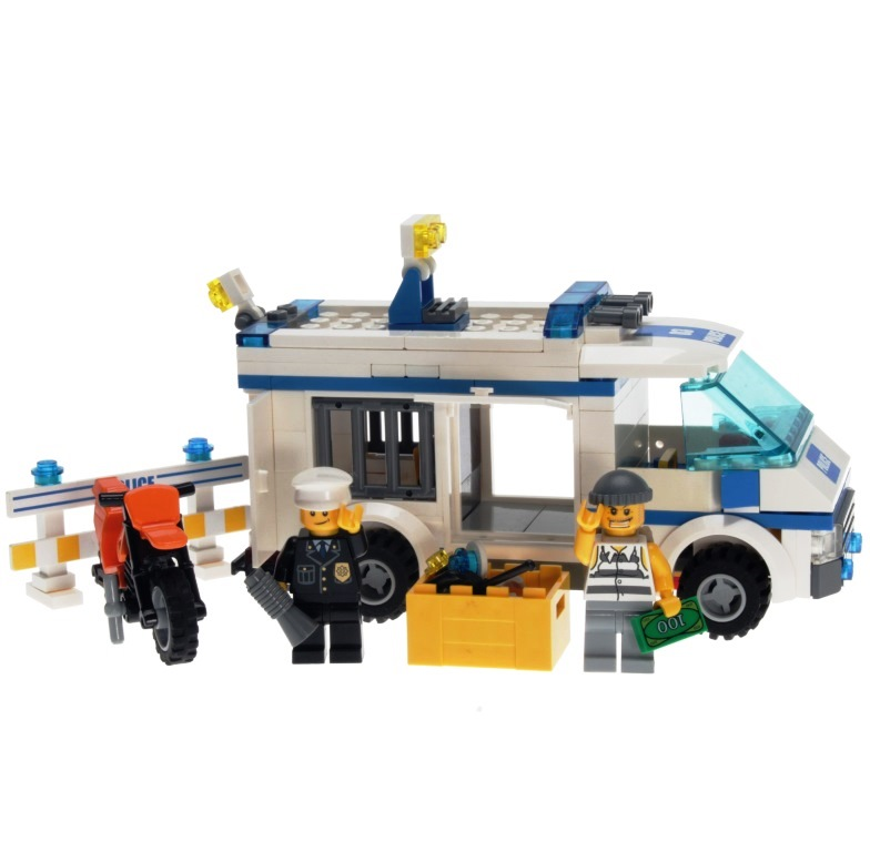 Lego City 7286 Prisoner Transport Decotoys
