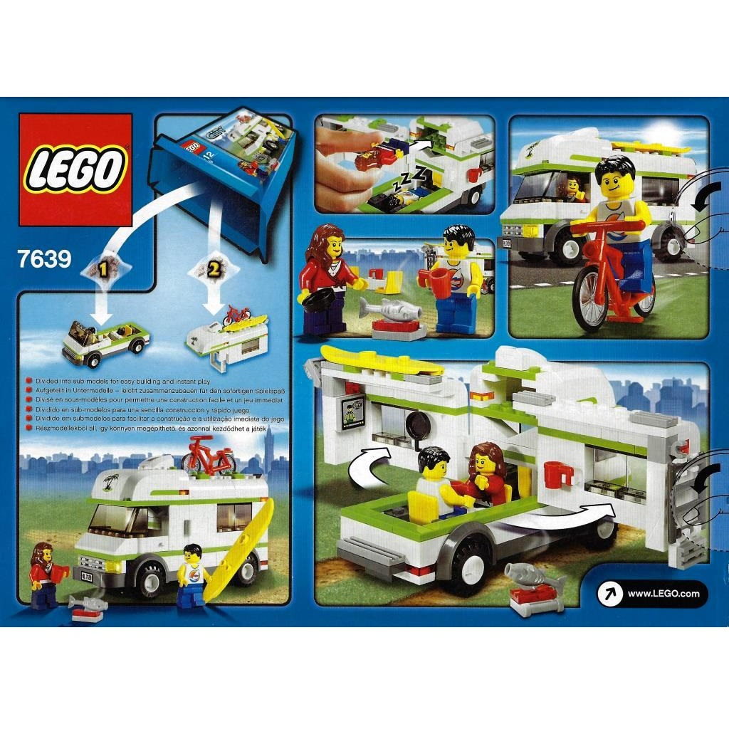 LEGO City 8 - Camper