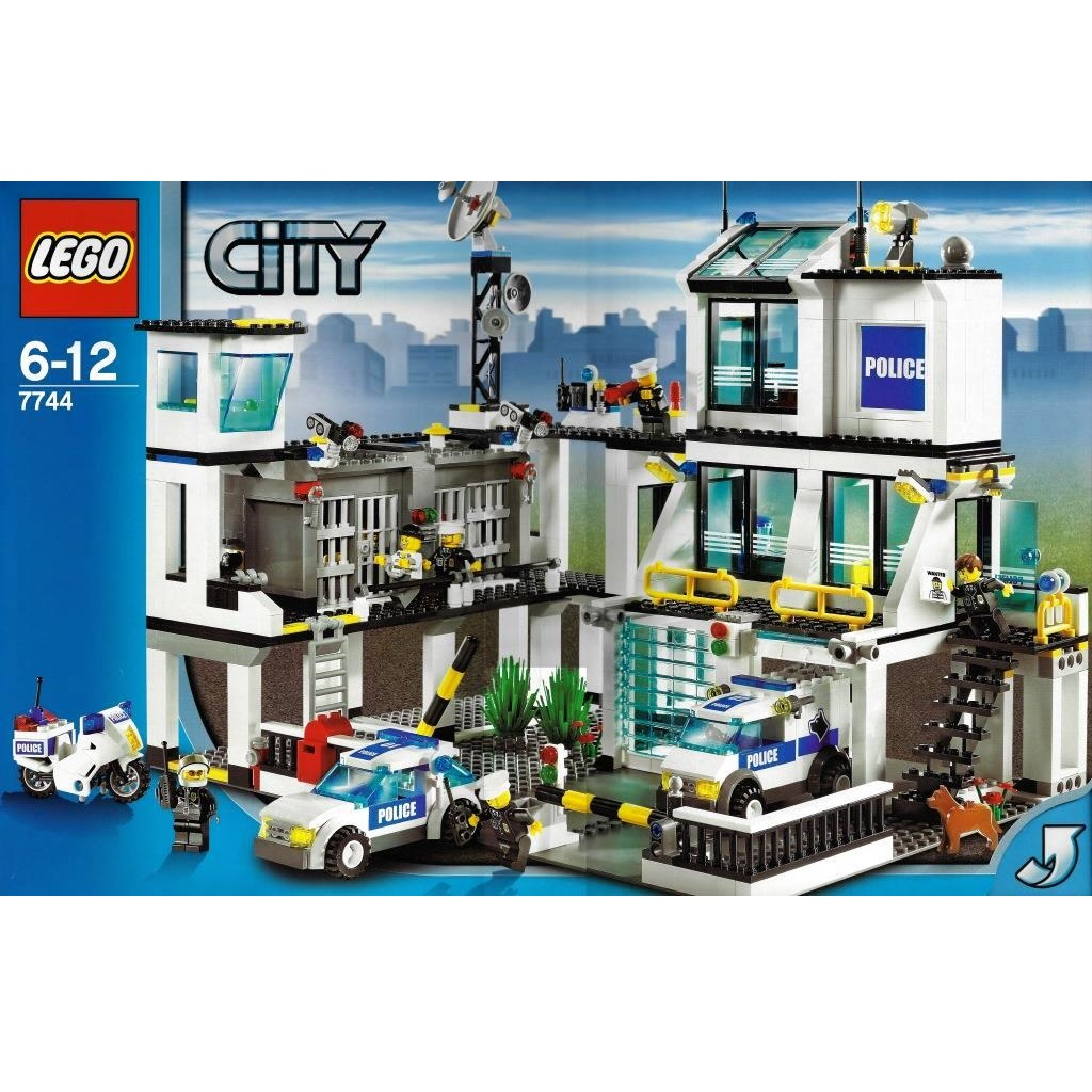 Lego City 7744 Police Headquarters Decotoys