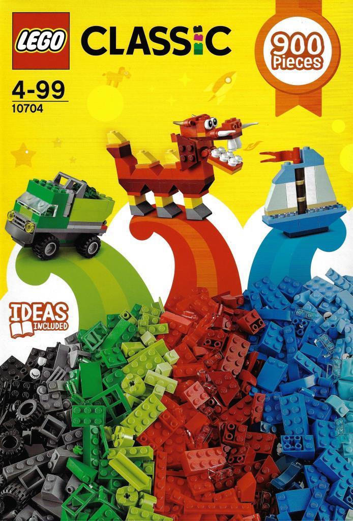 Lego Classic 10704 Decotoys Creative Box nwkOP80