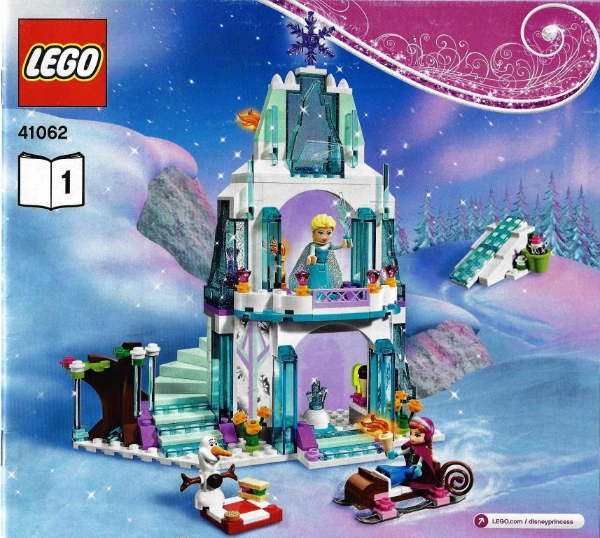 LEGO Disney Princess 41062 - Elsa's Sparkling Ice Castle