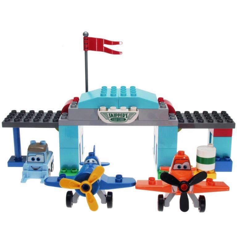 Lego Duplo 10511 Disney Planes Skippers Flight School Decotoys
