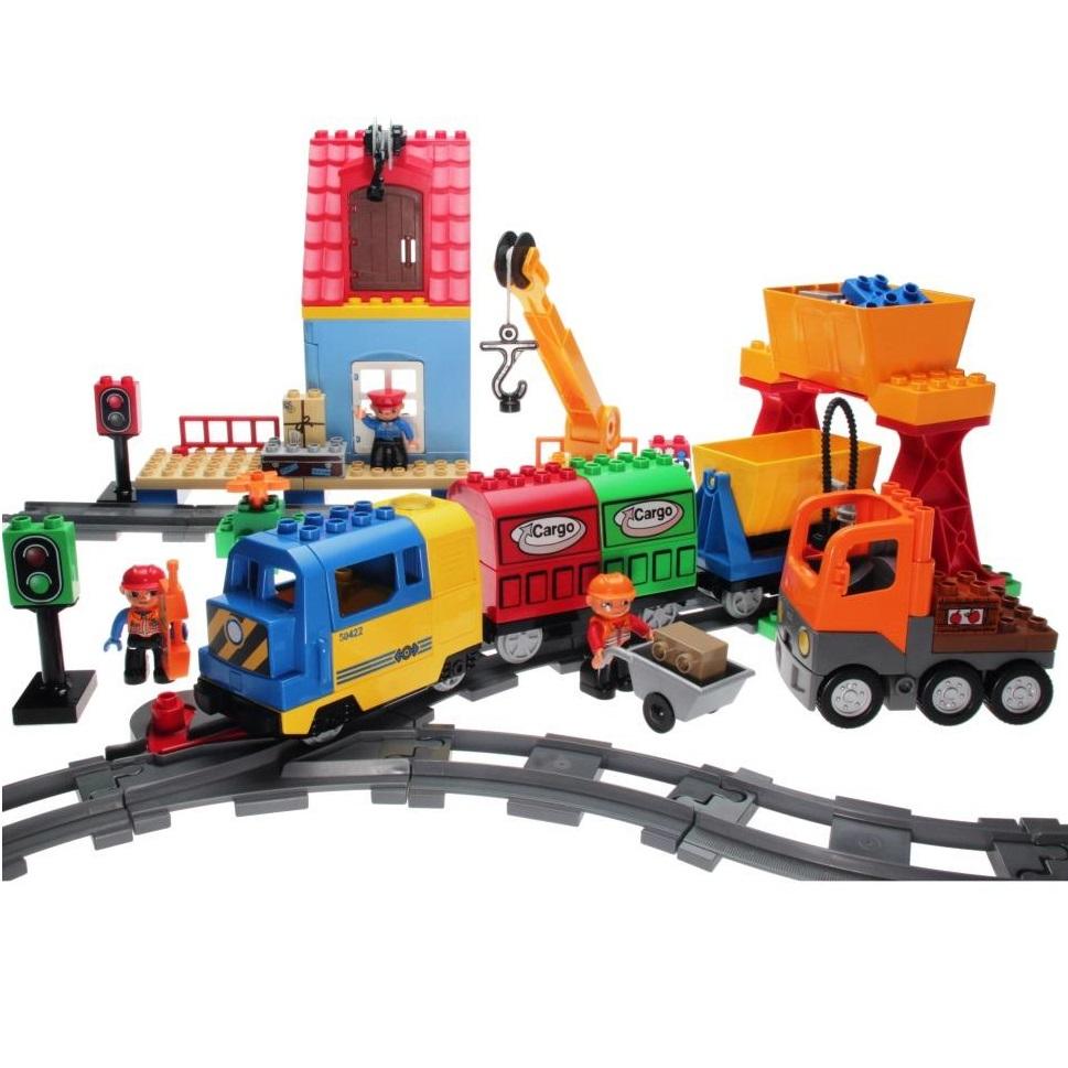 LEGO Duplo 3772 - Eisenbahn Super-Set - DECOTOYS