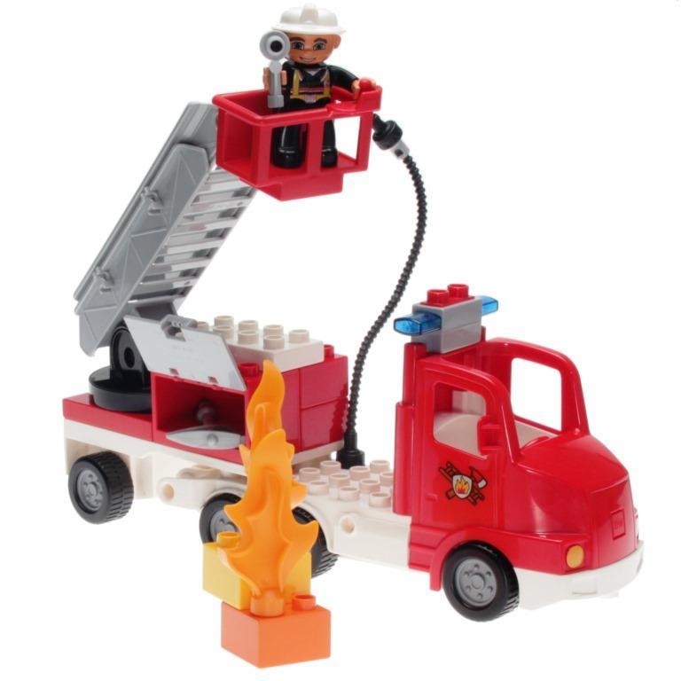Lego Duplo 5682 Fire Truck Decotoys