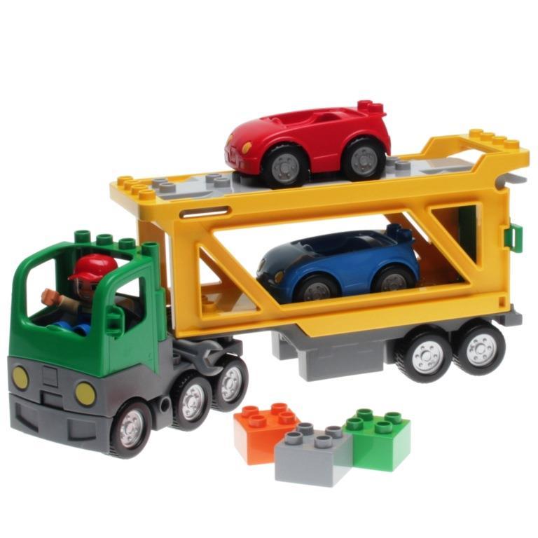 Lego 5684 Duplo Autotransporter Lego 5684 Decotoys Decotoys Duplo Autotransporter Lego dhtrsQ