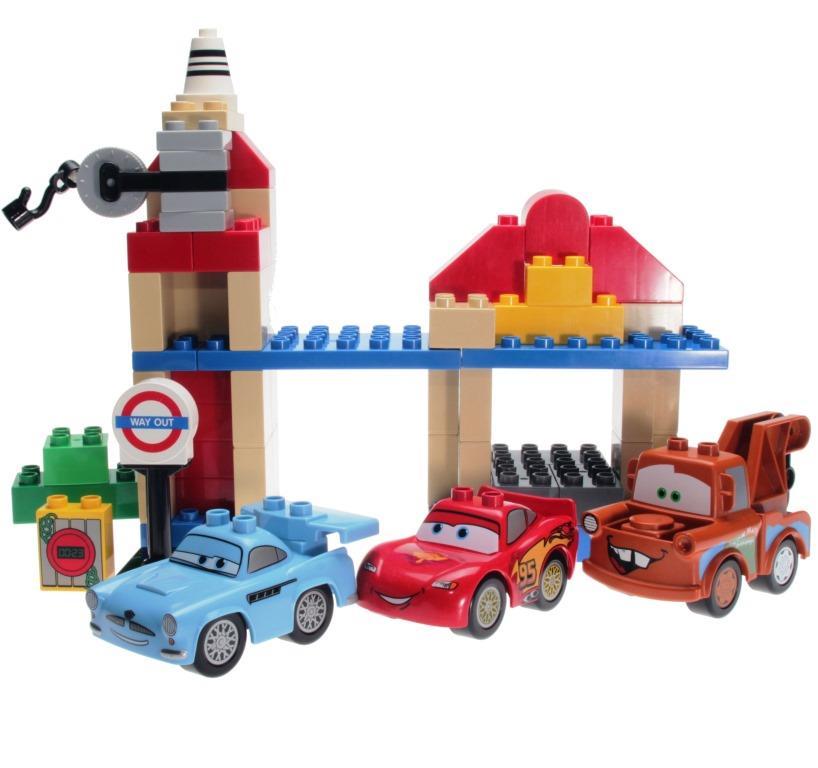 Lego Duplo 5828 Disney Cars Big Bentley Decotoys