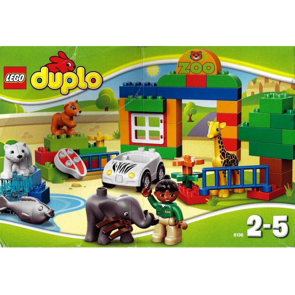 LEGO Duplo 6136 - My First Zoo - DECOTOYS