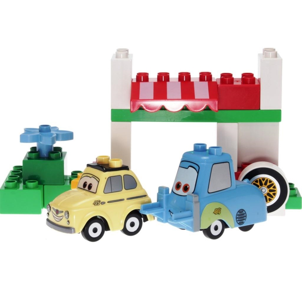 Lego Duplo 5818 Cars Luigis Italian Place Decotoys