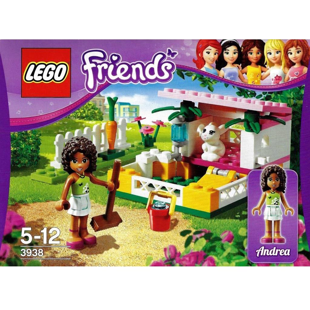 Lego Friends 3938 Andreas Bunny House Decotoys