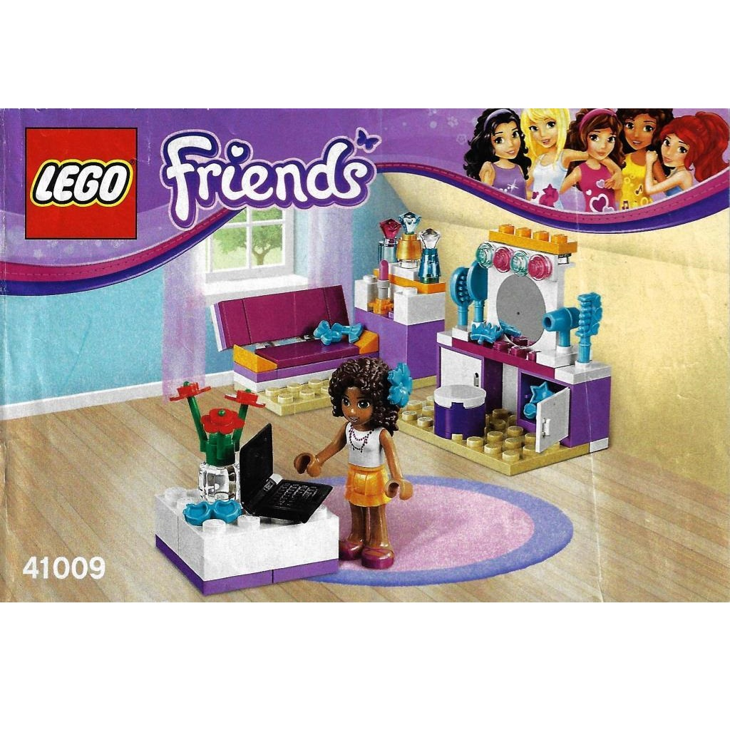 Lego Friends 41009 Andreas Zimmer Decotoys