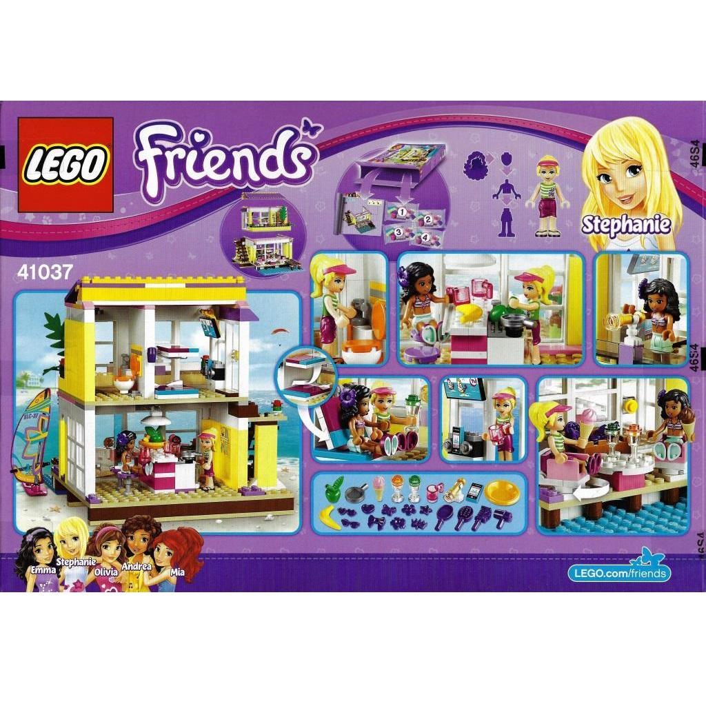 Lego Friends 41037 Stephanies Beach House Decotoys