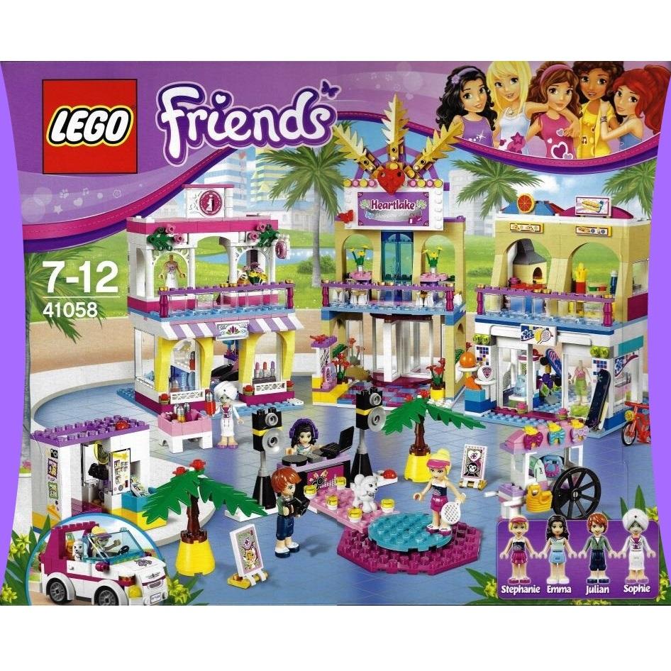 Lego Friends 41058 Heartlake Shopping Mall Decotoys