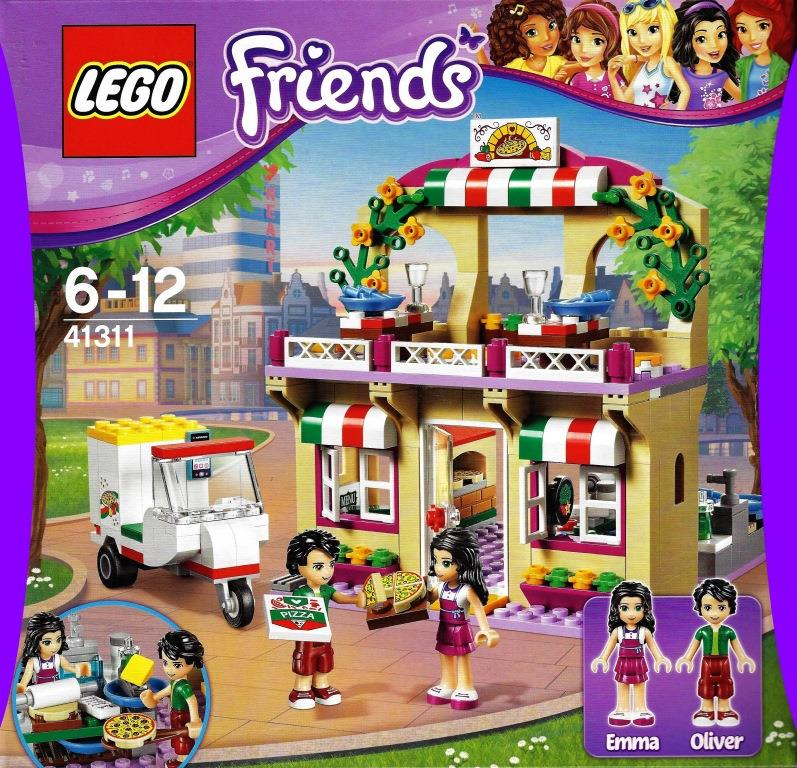 Lego Friends 41311 Heartlake Pizzeria Decotoys