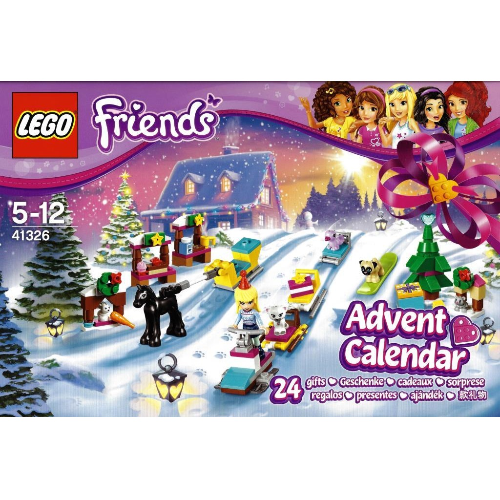 Weihnachtskalender Lego Friends.Lego Friends 41326 Friends Advent Calendar Decotoys