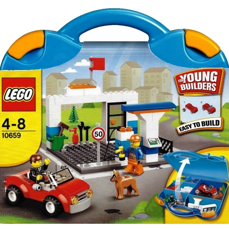 Lego Juniors 10659 Vehicle Suitcase Decotoys