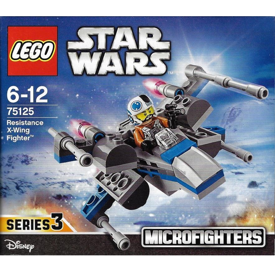 Lego Star Wars 75125 Resistance X Wing Fighter Decotoys