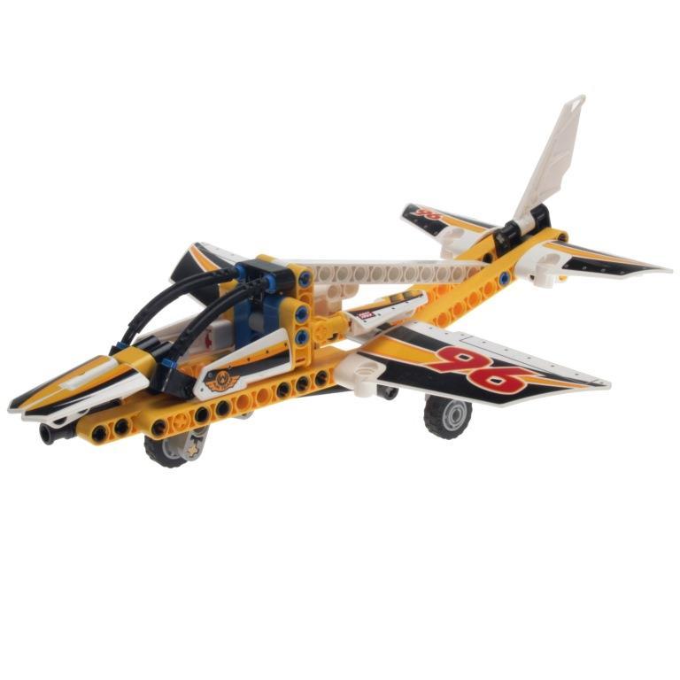 lego technic 42044 display team jet decotoys. Black Bedroom Furniture Sets. Home Design Ideas