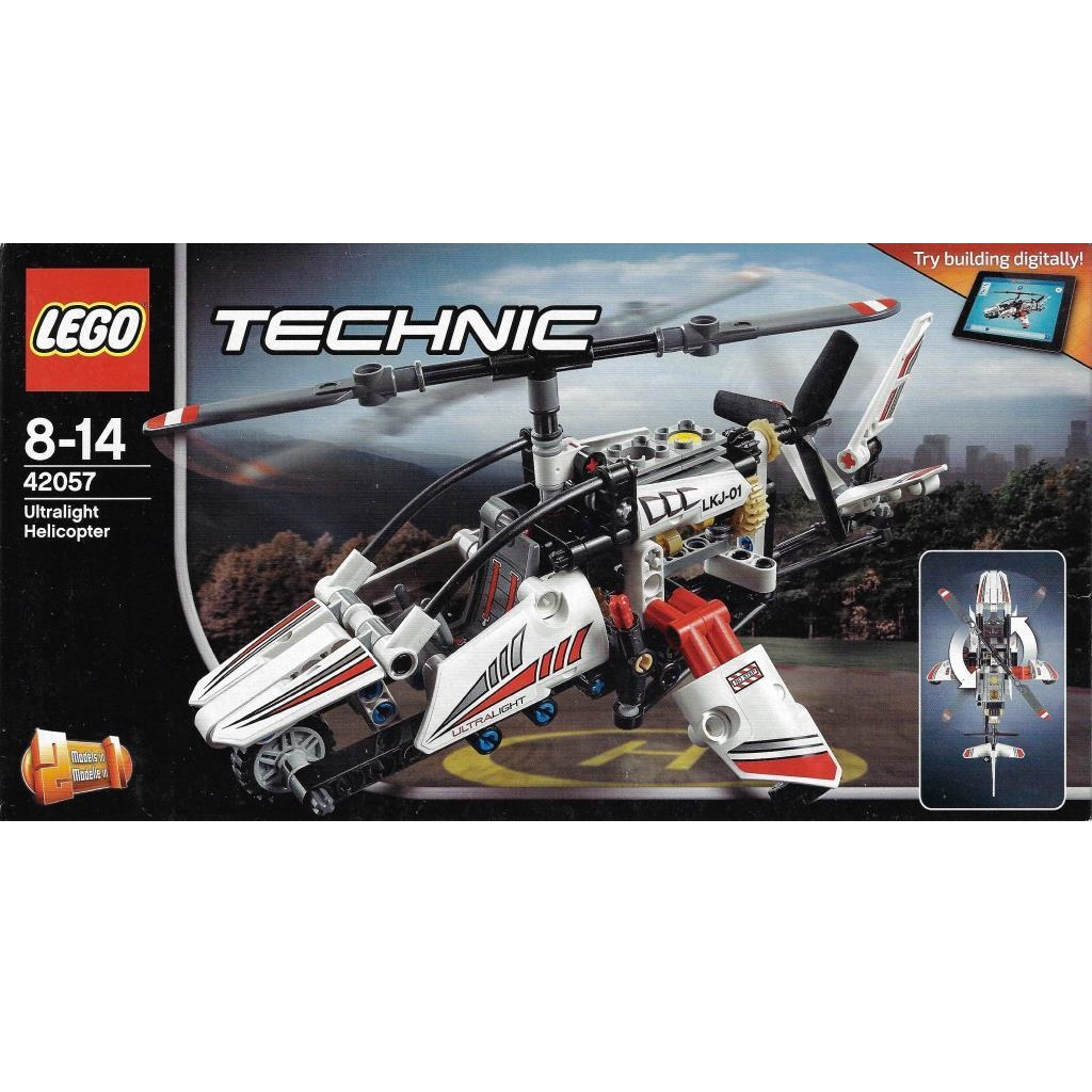 Lego Technic 42057 Ultralight Helicopter Decotoys
