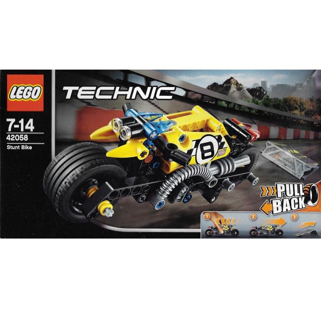 42058 Stunt Technic Lego Motorrad Decotoys TKlJ1c3uF