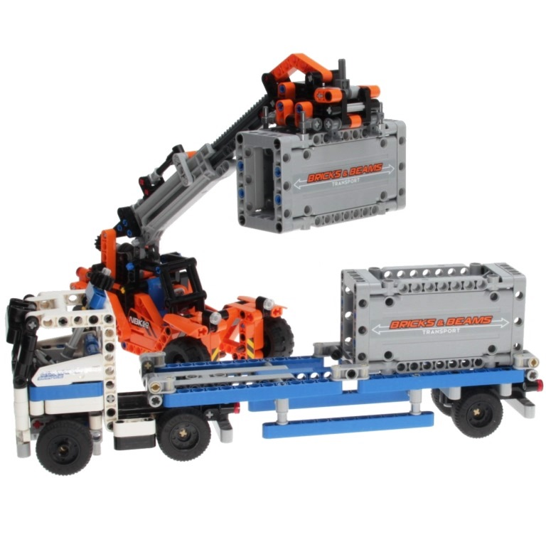 42062 Transport Decotoys Container Technic Lego YH9D2WEI