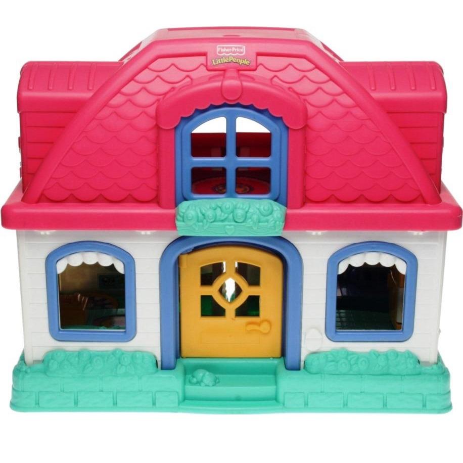 Little People Wohnhaus : fisher price little people b1831 wohnhaus mit ger uschen ~ Lizthompson.info Haus und Dekorationen