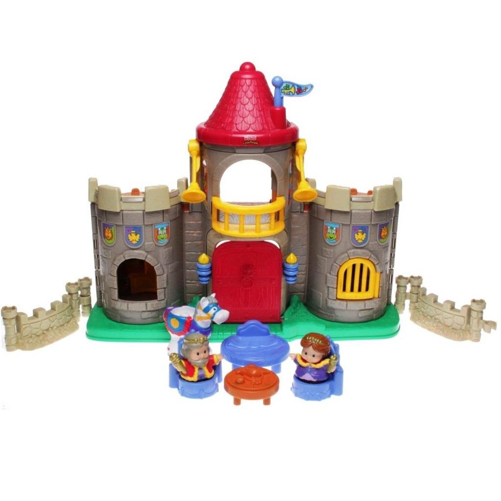 fisher price little people c1159 lil kingdom castle decotoys