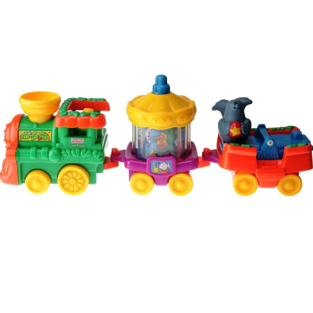 Fisher-Price Little People J4291 - ABC Musical Zoo Train