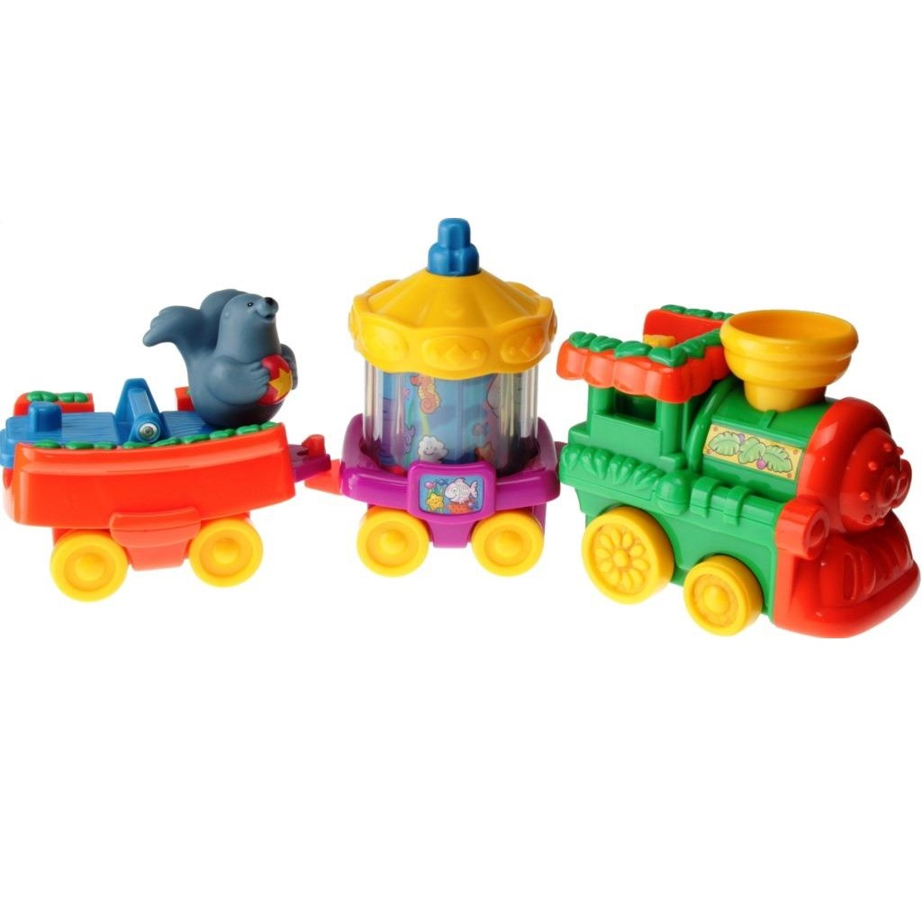 Fisher-Price Little People J4291 - ABC Musical Zoo Train - DECOTOYS
