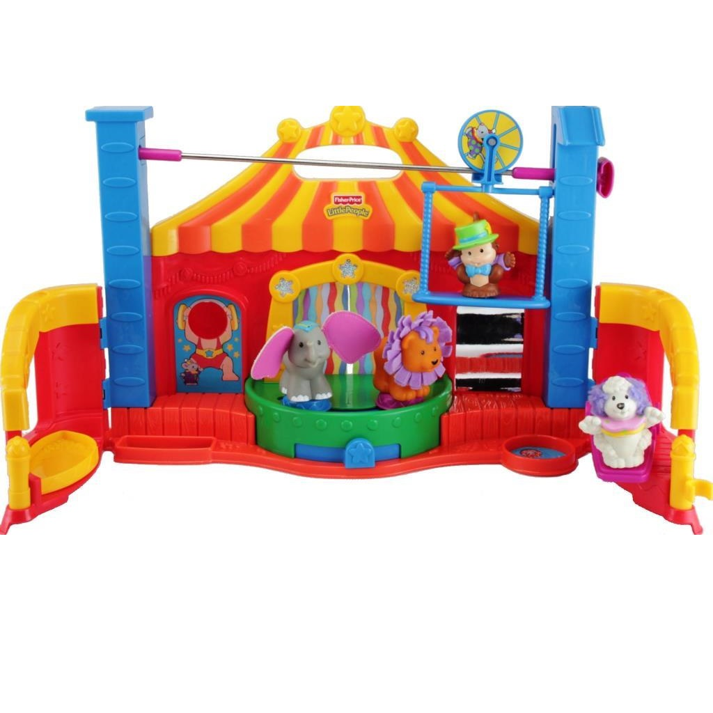 Fisher Price Little People K0315 Fuhlen Und Entdecken Zirkus