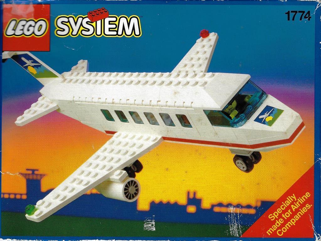 Lego System 1774 Flugzeug Decotoys