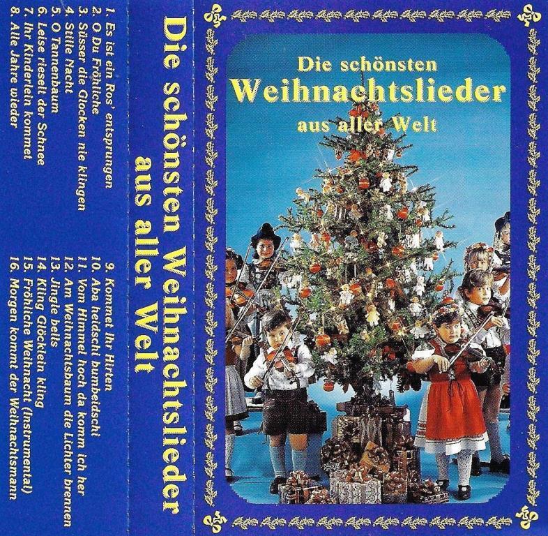 Schönsten Weihnachtslieder.Mc Die Schönsten Weihnachtslieder Aus Aller Welt