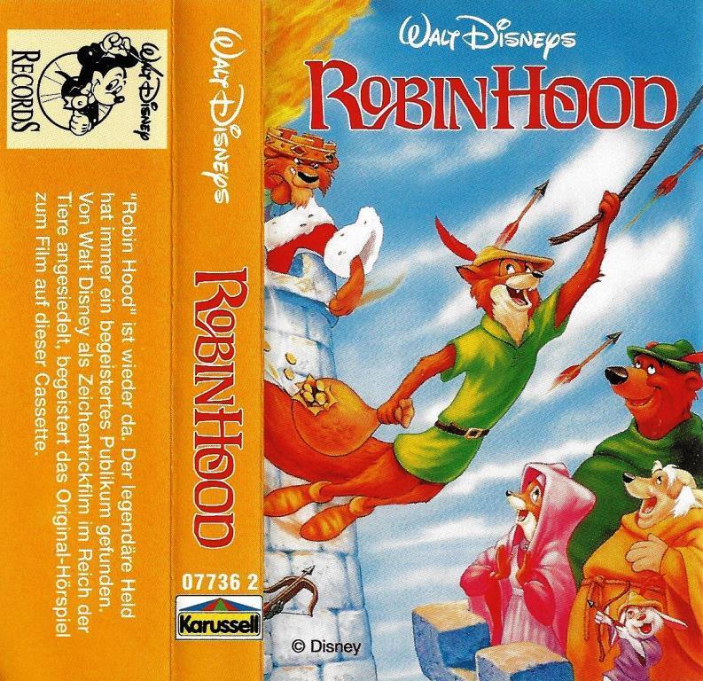 Mc Walt Disney Robin Hood Decotoys
