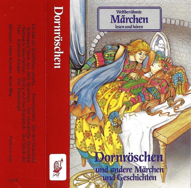 Mc Weltberuhmte Marchen Dornroschen Decotoys