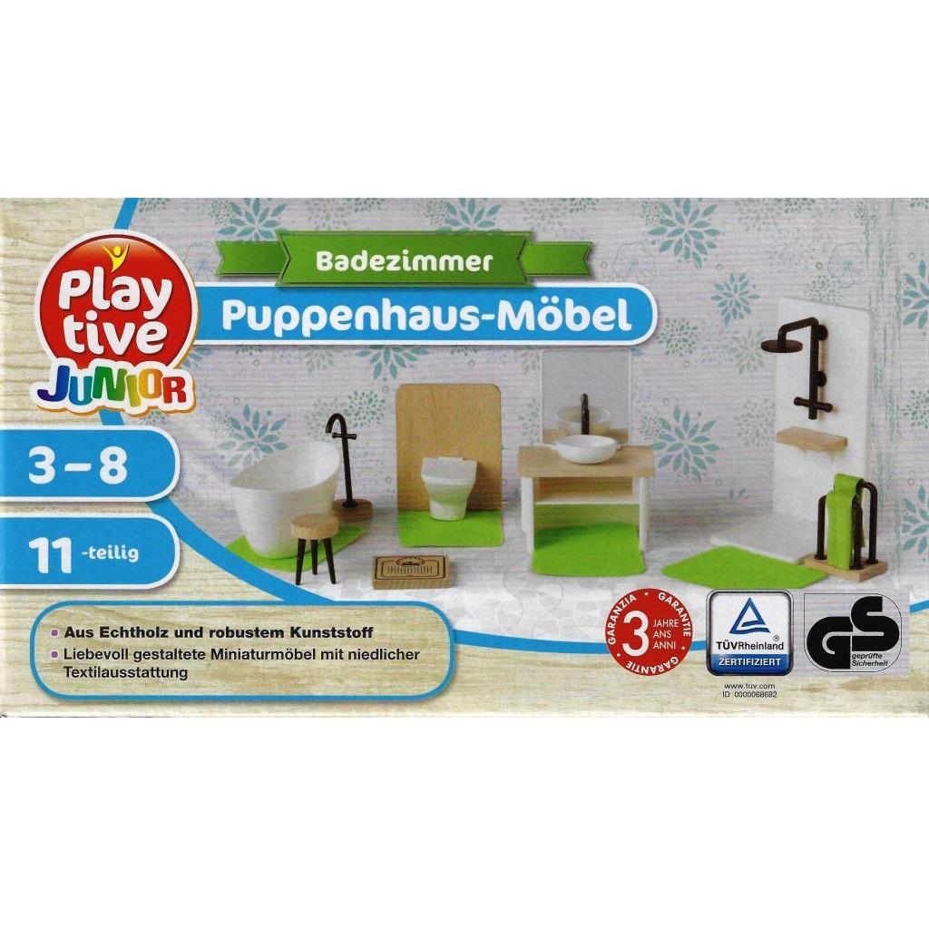 Mobel Salle De Bain playtive junior - meubles de maison de poupée salle de bain