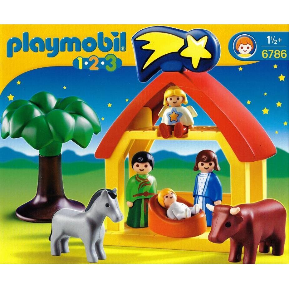 Playmobil Weihnachtskrippe.Playmobil 6786 Weihnachtskrippe