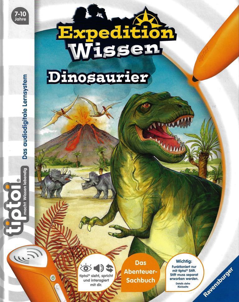 tiptoi dinosaurier tiptoi pocket wissen