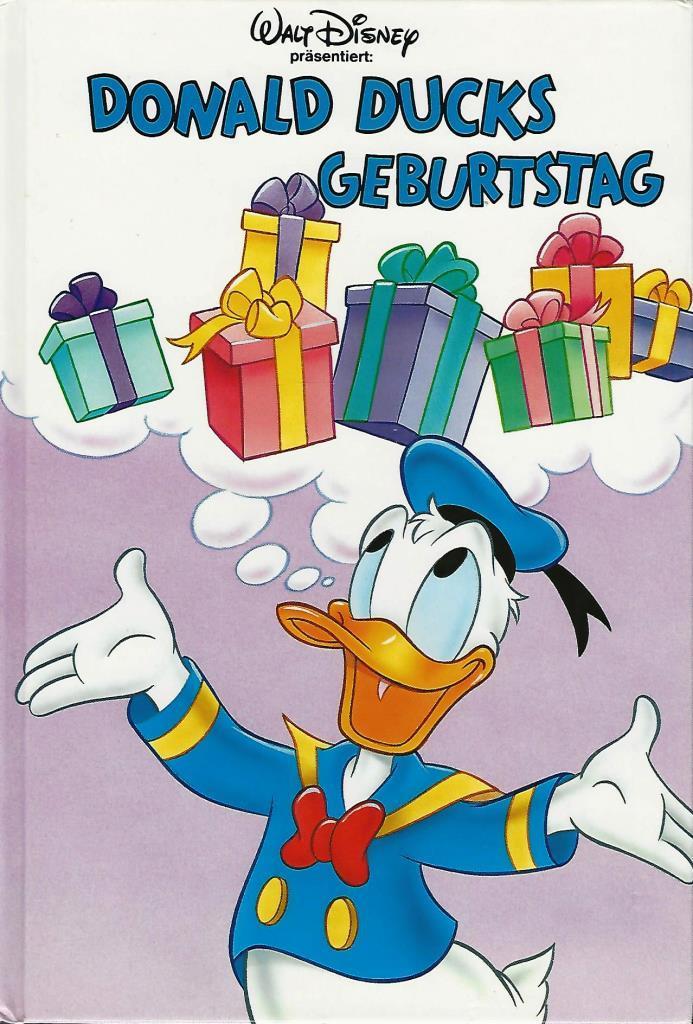 Walt Disney Donald Ducks Geburtstag Decotoys