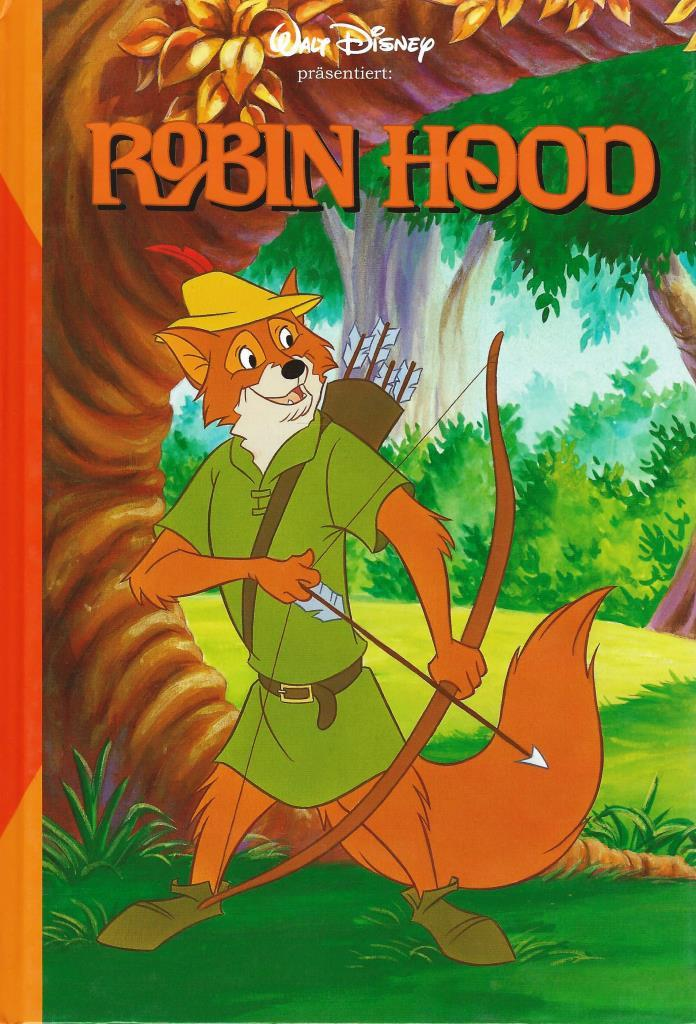 Walt Disney Robin Hood Decotoys