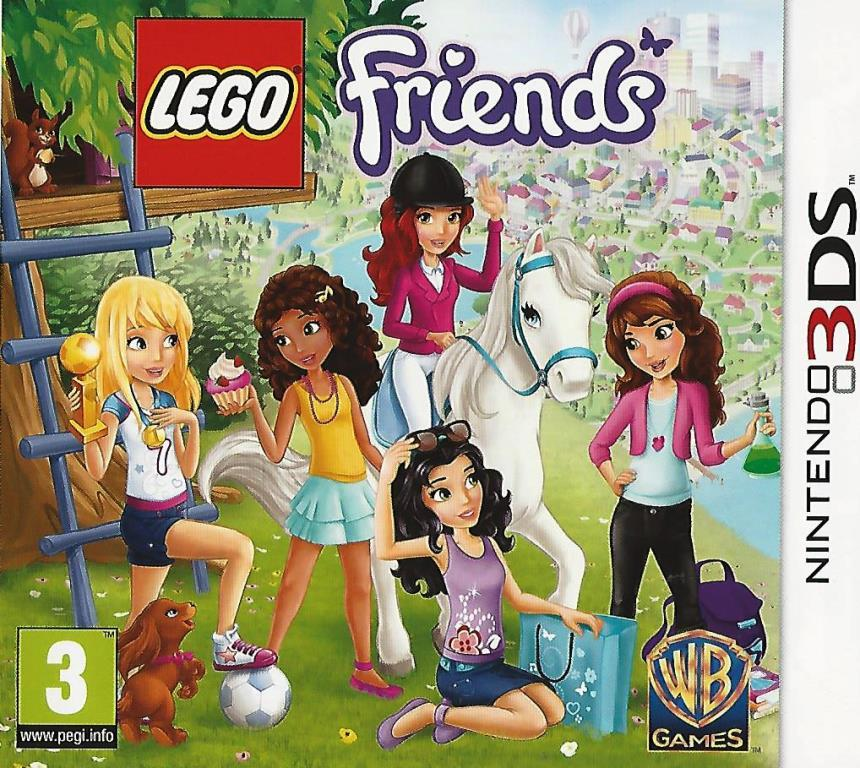 Nintendo 3ds Lego Friends Decotoys