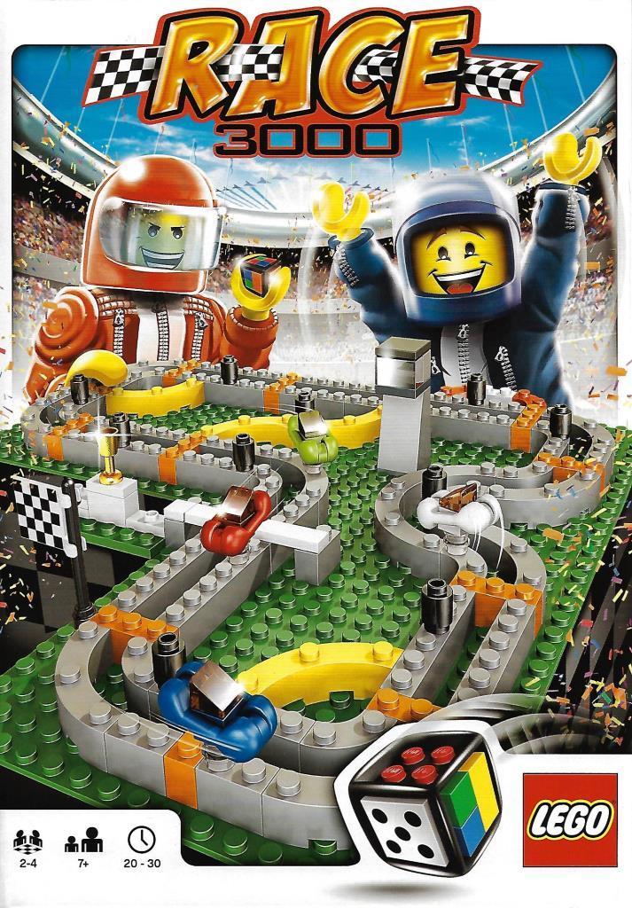 Lego Spiele 3839 Race 3000 Decotoys