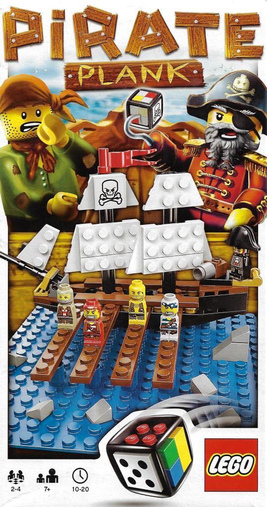 Lego Spiele 3848 Pirate Plank Decotoys