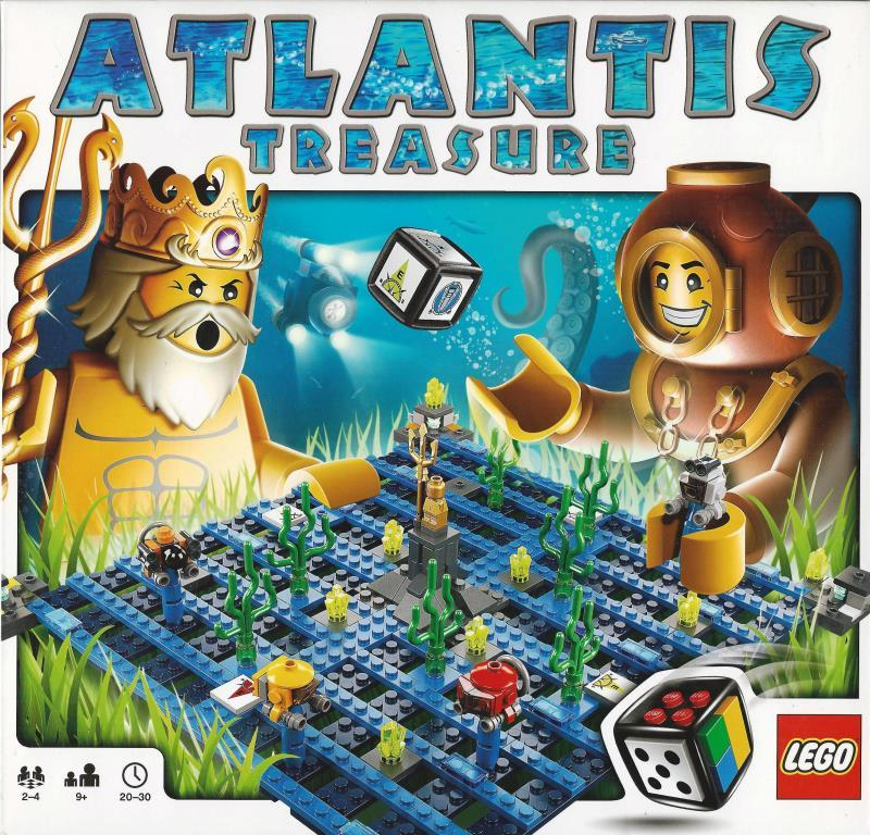 Lego Spiele 3851 Atlantis Treasure Decotoys