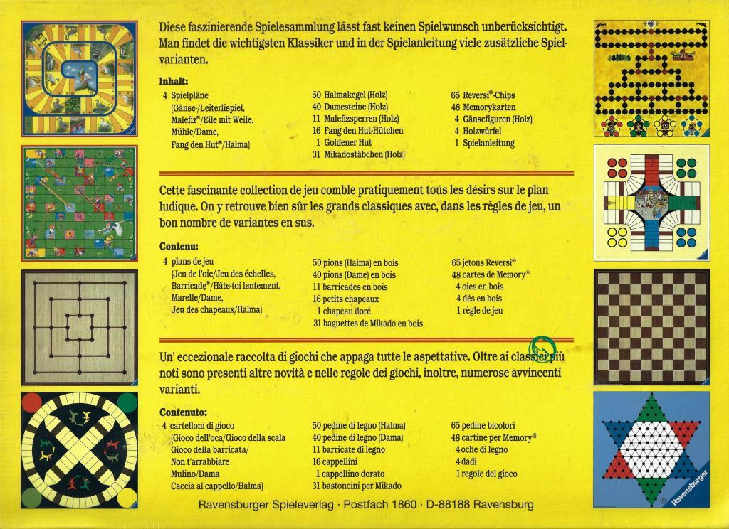 Ravensburger Spielanleitungen