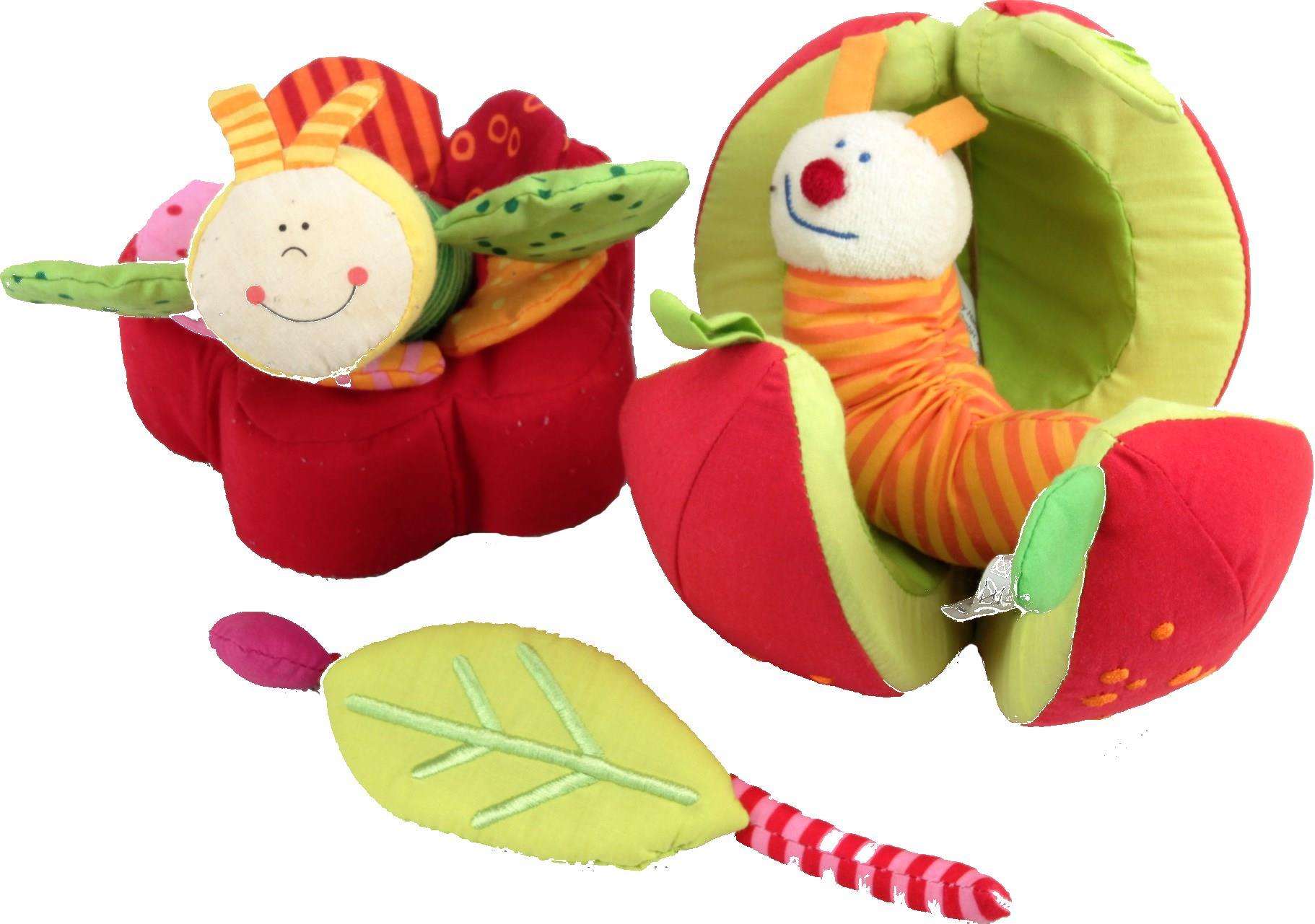 Haba Apfel Und Blume Da Ist Der Wurm Drin Decotoys
